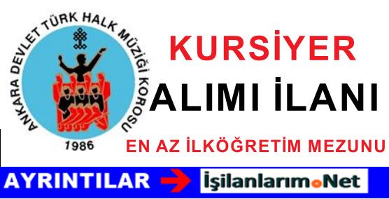 Ankara Türk Halk Müziği Amatör Gençlik Korosu Kursiyer Alımı
