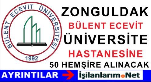 Bülent Ecevit Üniversite Hastanesi Sözleşmeli 50 Hemşire Alımı