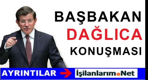 Başbakan Davutoğlu Dağlıca Saldırısı Sonrası Açıklama Yaptı