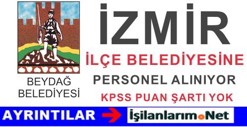 İzmir Beydağ Belediyesi 2015 Yılı Sözleşmeli Personel Alımı