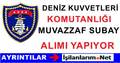 Deniz Kuvvetleri (DKK) Muvazzaf Subay Tabip Alımı İlanı 2015