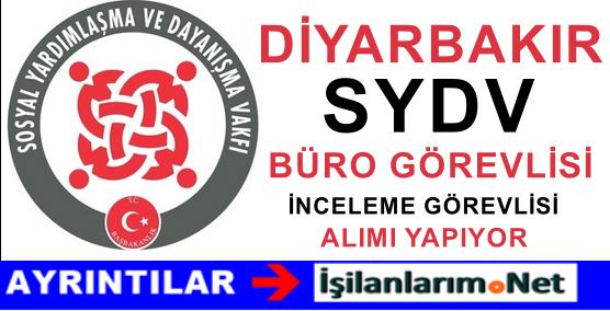 Diyarbakır Bismil SYDV 4 Adet Personel Alımı Yapıyor