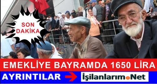 CHP Emekliye Bayramda 1650 Lira İkramiye Ödemesi Müjdesi