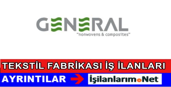 Gaziantep General Tekstil Personel Eleman İşçi Alımı İş İlanları