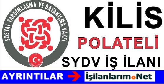 SYDV Kilis Polateli Personel Alımı İlanı Başvurusu 2015