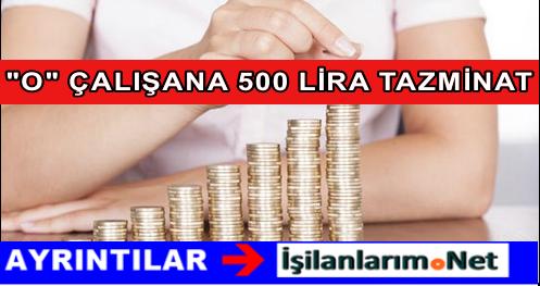 KİT Çalışanlarına Memura 500 Lira Arazi Tazminatı Verilecek