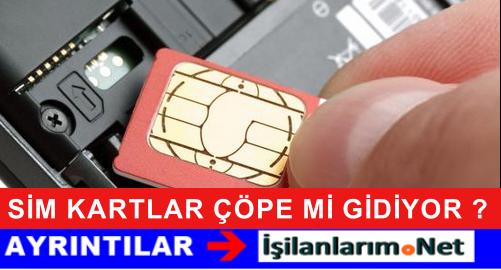 4.5G Uyumlu SİM Kartlar Operatörler Tarafından Verilecek