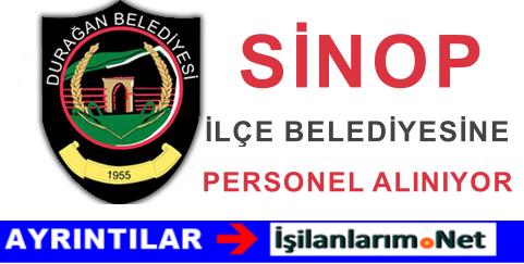 Sinop Durağan Belediyesi Sözleşmeli Teknik Personel İlanı