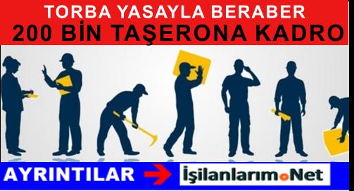 Taşeron Çalışan İşçiler Devletten 200 BİN Kadro Bekliyor
