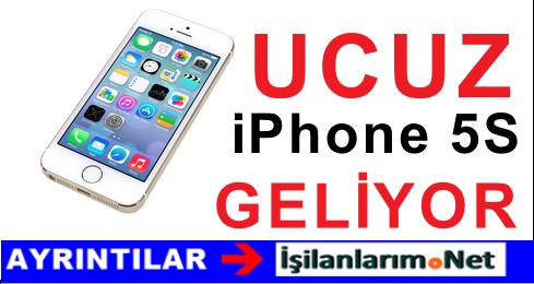 iPhone'dan Hamle: Ucuz 5S Telefonları Satışa Çıkartacak