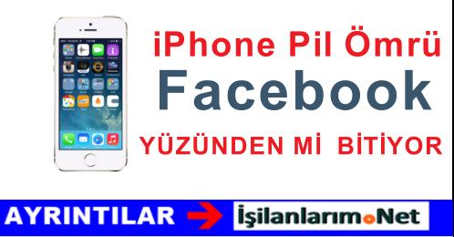 iPhone Kullananlar Dikkat.! Şarjınızı Facebook Bitiriyor