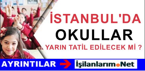 İstanbul'da 6 Ekim Salı Okullar Tatil Mi Edilecek ? Son Dakika
