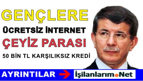 AK Parti'den Gençlere Sınırsız ve Ücretsiz İnternet Erişimi