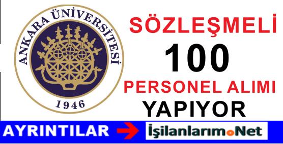 Ankara Üniversitesi 100 Sağlık Personeli Hemşire Alımı İlanı