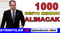 1000 BESYO Mezunu Ataması 1 Kasım Seçimlerinden Sonra