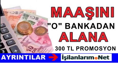 Emekli Maaşını Denizbank'tan Alırsa 300 TL Promosyon Alacak