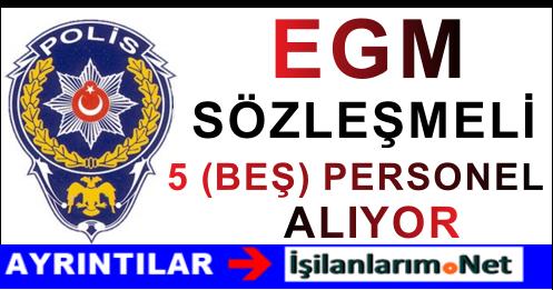 EGM Diyarbakır ve Van'da Sözleşmeli Personel Alımı Yapıyor