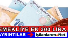 Başbakan'dan Emekliye 300 Liralık Promosyon Müjdesi