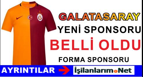 Galatasaray'ın Yeni Forma Sponsoru Dumankaya Oldu