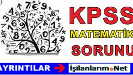 KPSS'de Hiç Matematik Yapmadan Sınav Kazanılabilir Mi ?