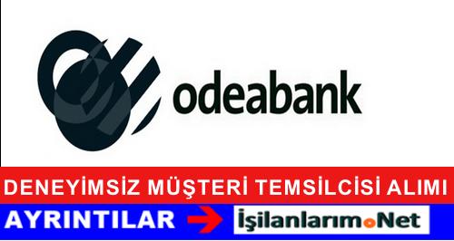 ODEABANK Müşteri Hizmet Yetkilisi Alımı İlanı Başvurusu