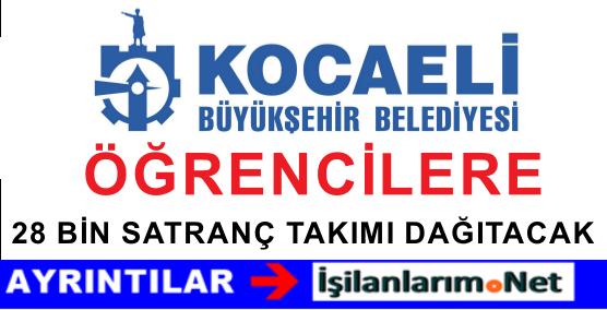 Kocaeli Büyükşehir Belediyesi 28 BİN Satranç Dağıtacak