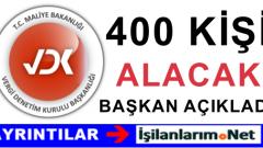 Maliye Bakanlığı 400 Vergi Müfettiş Yardımcısı Alımı Yapacak