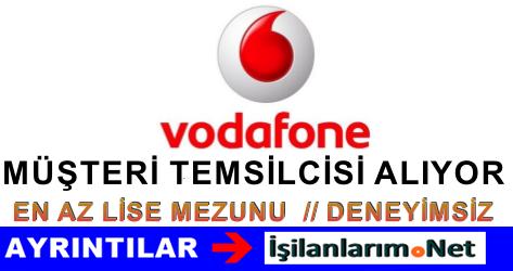 Vodafone Kurumsal Müşteri Temsilcisi Alımı İş Başvurusu