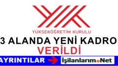 6 Ekim 2015 ÖYP'den Felsefe PDR Alanları İçin Kadro İlanı
