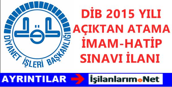 DIB-ACIKTAN-ATAMA-SINAVI-2015