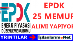 Enerji Piyasası Düzenleme Kurumu Başkanlığı (EPDK) Memur Alımı
