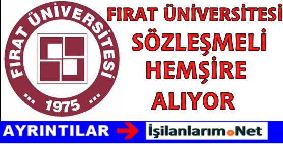 Fırat Üniversitesi Sözleşmeli Hemşire Alımı