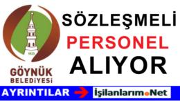 Göynük Belediyesi Sözleşmeli Mimar Alımı İlanı Başvurusu