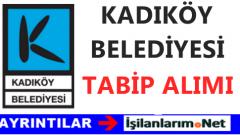 Kadıköy Belediyesi Tam Zamanlı Sözleşmeli Tabip Alımı İlanı