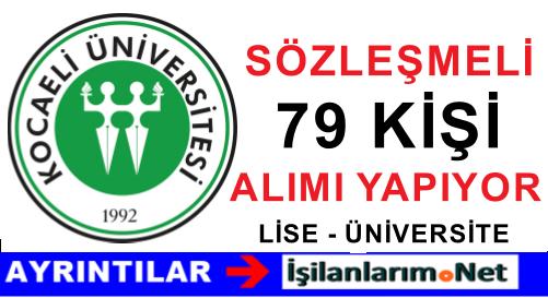 Kocaeli Üniversitesi 4/B Sözleşmeli Hemşire Alımı Başvurusu