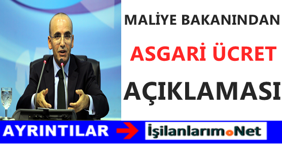 Maliye Bakanı Mehmet Şimşek'ten 2016 Yılında Asgari Ücret 1300 TL Müjdesi