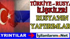Rusya'nın Türkiye Yaptırımları Neler? Ocak 2016 Rusya'ya Vize