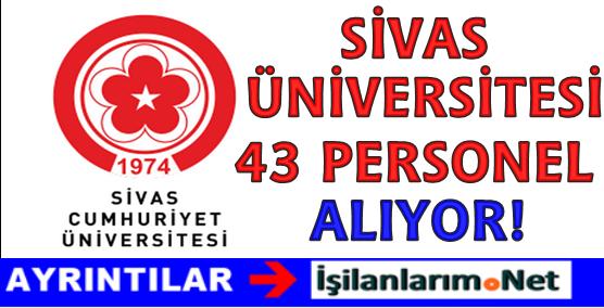 Cumhuriyet Üniversitesi 43 Sağlık Personeli Hemşire Alımı İlanı