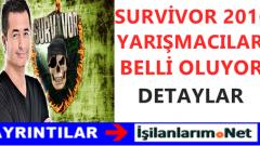 Survivor 2016 Yarışmacıları Kimler Belli Olmaya Başladı