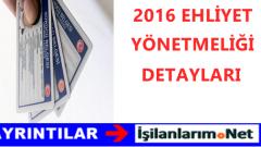 2016 Yeni Ehliyet Sistemi Hakkında Detaylı Bilgiler