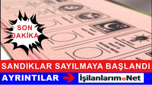 Türkiye Genelinde Erken Seçim İçin Oy Verme Süresi Bitti