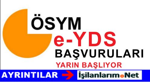 ÖSYM e-YDS 2015 Başvuruları 5-9 Kasım Tarihlerinde Olacak