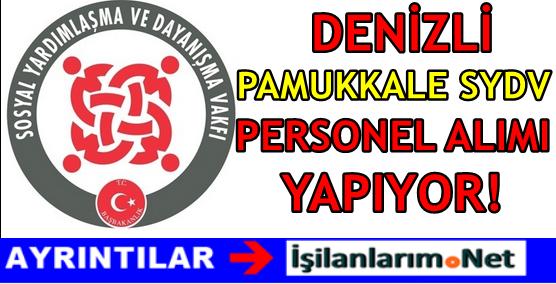 Denizli Pamukkale SYDV Personel Alımı 2016