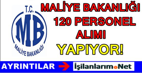 Maliye Bakanlığı 120 Hazine Avukatı Personel Alımı Duyurusu