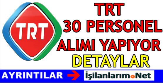 TRT-30-PERSONEL-ALIMI-2016