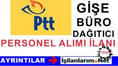 PTT 2016 Yılı Gişe Personeli Büro Görevlisi Alımı İlanı Başvuru