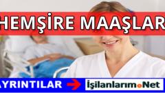 Devlet Hastanelerinde Çalışan Hemşire Maaşları