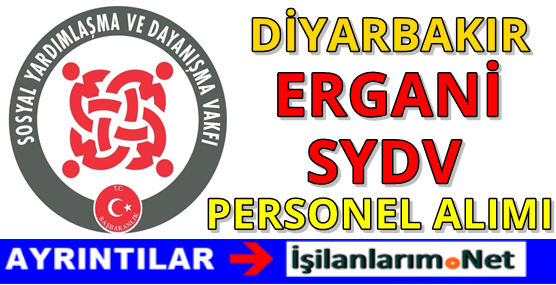 Diyarbakır Ergani SYDV Personel Alımı İlanı