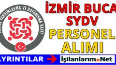 İzmir Buca SYDV Personel Alımı 2016