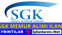 Sosyal Güvenlik Kurumu (SGK) Personel Alımı 2016